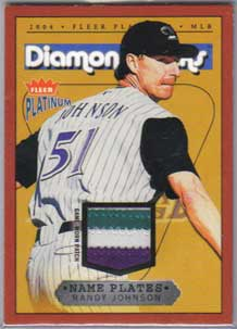 200 Fleer Platinum Randy Johnson Patch