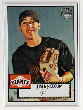 2007 Topps 52 Tim Lincecum Rookie Card